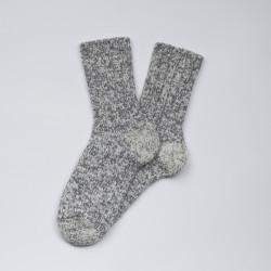 Grosses chaussettes Danoises en laine grise