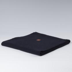 Echarpe en laine bleu marine KCA