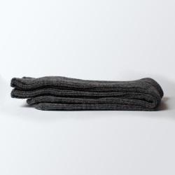 Chaussettes anthracites en laine
