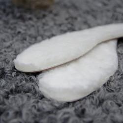 Semelle en laine de mouton